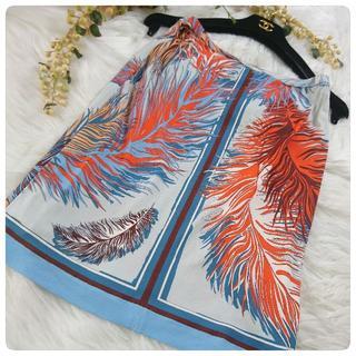 EMILIO PUCCI - ◆EMILIO PUCCI◆鮮やかなフェザープリントが素敵♪スカート/サイズ34