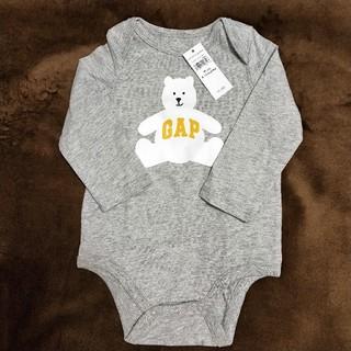 babyGAP - 【新品未使用】GAP ベビー 長袖 ロンパース くま