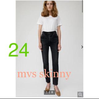 moussy - MVS SKINNY BLACK 24