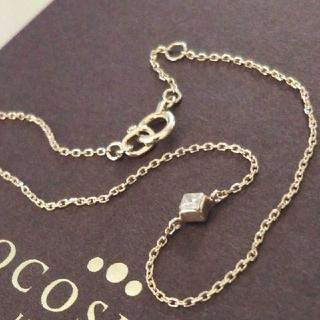 ココシュニック(COCOSHNIK)の専用❕ココシュニック K10 ブレスレット ダイヤモンド スクエア ミステリー(ブレスレット/バングル)