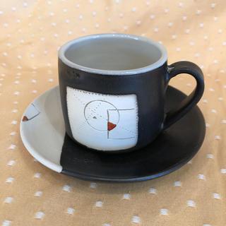 コーヒーカップ&ソーサー 1客 中古(グラス/カップ)