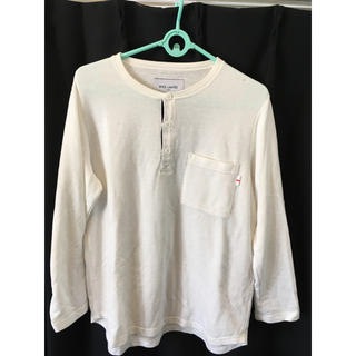 ウィズ(whiz)の値下げ whiz ヘンリーネックTシャツ オフホワイト(Tシャツ/カットソー(半袖/袖なし))