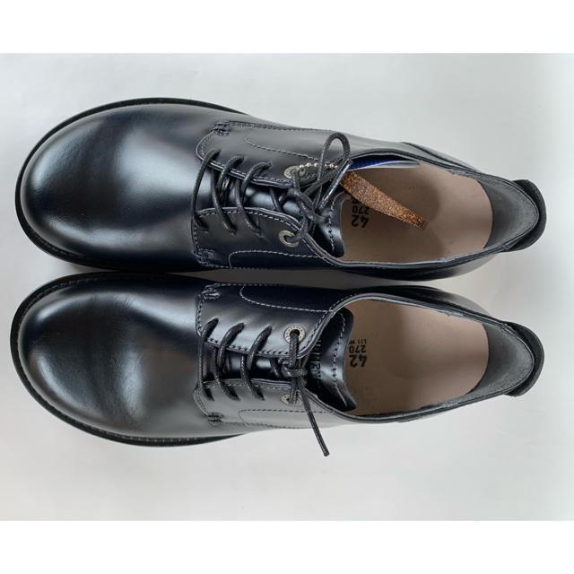 BIRKENSTOCK(ビルケンシュトック)のビルケンシュトック ギルフォード ブラック 黒 42 27cm  新品 未使用 メンズの靴/シューズ(ドレス/ビジネス)の商品写真