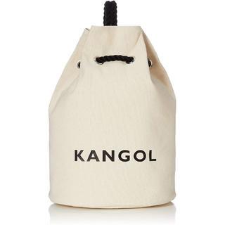 カンゴール(KANGOL)の新品送料無料KANGOL(カンゴール)巾着  リュック ボンサック ホワイト(リュック/バックパック)