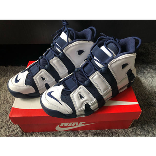 "NIKE - NIKE AIR MORE UPTEMPO ""OLYMPIC"" 28cm"