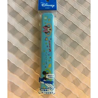 ミッキーマウス(ミッキーマウス)のヤクセル  サポート箸箱 ディズニー ミッキー・ミニー  箸ケース 日本製(スプーン/フォーク)