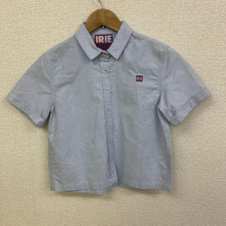 アイリーライフ(IRIE LIFE)の◆新品未使用◆irie life キッズ用 半袖シャツ ブルー 150サイズ(Tシャツ/カットソー)