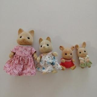 エポック(EPOCH)のシルバニアファミリー 人形 4体セット(ぬいぐるみ/人形)