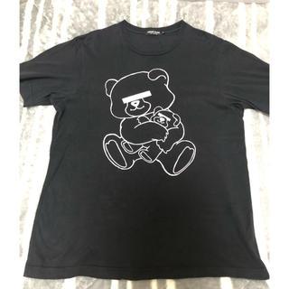 アンダーカバー(UNDERCOVER)のundercover Tシャツ メンズ L ブラック(Tシャツ/カットソー(半袖/袖なし))