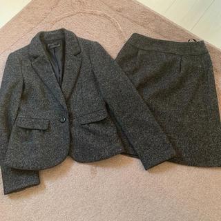 エニィスィス(anySiS)のエニスィス セットアップ  スカート スーツ ツイード調(セット/コーデ)