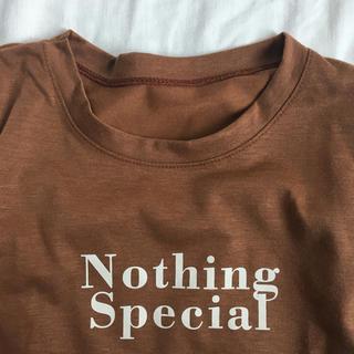 ゴゴシング(GOGOSING)の韓国 ロゴTシャツ(Tシャツ(長袖/七分))