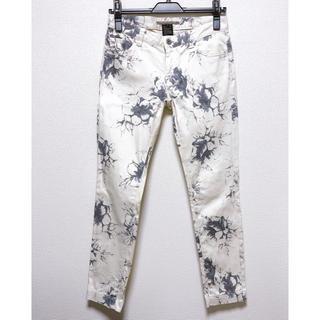 【ダブルスタンダードクロージング 】花柄パンツ オフホワイト