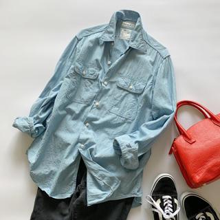 MADISONBLUE - 美品♥マディソンブルー ハンプトン デニムシャツ ワークシャツ ブルー