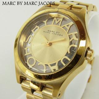 マークバイマークジェイコブス(MARC BY MARC JACOBS)のマークバイマークジェイコブス ヘンリースケルトン クォーツ アナログ ウォッチ(腕時計)