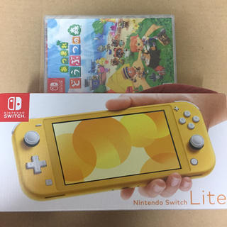 ニンテンドースイッチ(Nintendo Switch)のSwitch light どうぶつの森(家庭用ゲーム機本体)