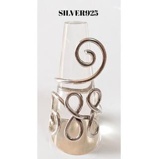 4545 SILVER925 ワイヤーワークリング21号フリー シルバー925製(リング(指輪))