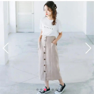 dholic - isn't she? ロゴtシャツ スカート セット