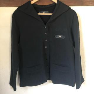 ketty - セーラー襟 カーディガン ブラック