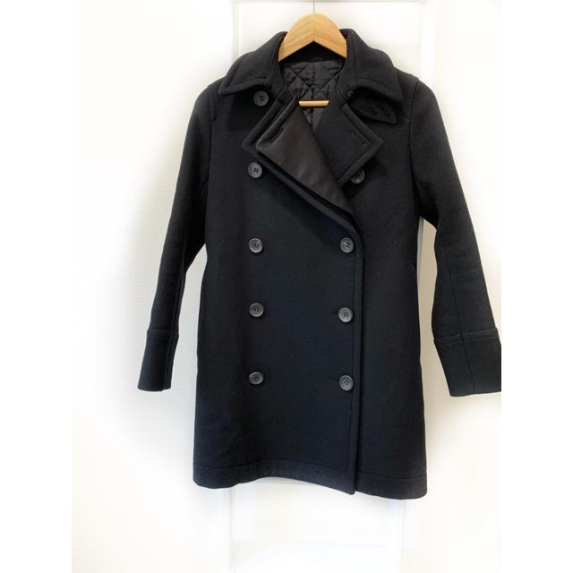 DEUXIEME CLASSE(ドゥーズィエムクラス)の定価8500円 THE RERACS ザ リラクス ピーコート 0 コート レディースのジャケット/アウター(ピーコート)の商品写真