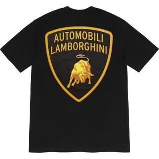 Supreme - Supreme Lamborghini Tee 黒 L