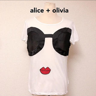 Alice+Olivia - アリスアンドオリビア  ステイシー   Tシャツ 人気 完売 可愛い