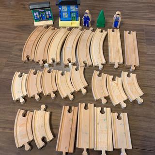 ブリオ(BRIO)の木製 レール イマジナリウム BRIO ブリオ IKEA イケア(電車のおもちゃ/車)