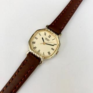 セイコー(SEIKO)のSEIKO レディースクォーツ腕時計 ベルト未使用 電池あり(腕時計)