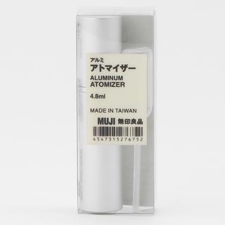 ムジルシリョウヒン(MUJI (無印良品))の無印良品 アルミアトマイザー 4.8ml(その他)