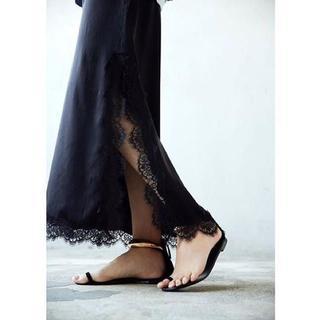 L'Appartement DEUXIEME CLASSE - 新品★ICONS SILK Black Maxi Dress アパルトモン