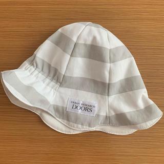 ドアーズ(DOORS / URBAN RESEARCH)の✨美品✨アーバンリサーチドアーズ ベビー帽子 46センチ♡(帽子)
