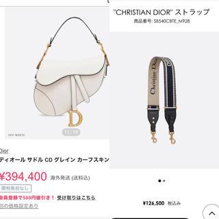 Christian Dior - 19SS Christian Dior saddle bag