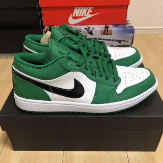 NIKE - NIKE AIR JORDAN 1 LOW PINE GREEN 26.5cm