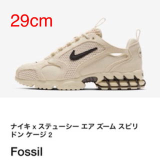 NIKE - STUSSY × NIKE AIR ZOOM SPIRIDON CAGED 2