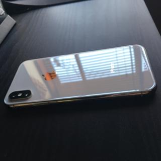 Apple - iPhone x 256 simフリー シルバー