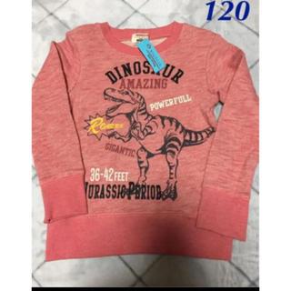 motherways - トレーナー 120 恐竜柄