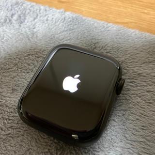 アップルウォッチ(Apple Watch)のApple Watch Series5 チタン 44mm スペースブラック 中古(腕時計(デジタル))