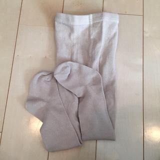 ザラキッズ(ZARA KIDS)のZARAbaby オートミール色タイツ(靴下/タイツ)