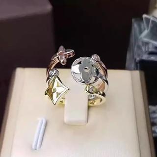 シルバー925 リング バーグモノグラム・イディール 18k silver925(リング(指輪))