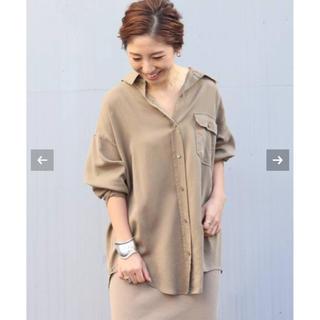 Plage - Plage   新品★Military washシャツ★