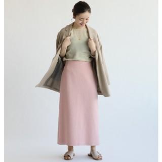 イエナ(IENA)のIENA【イエナ】☆ライトツイードスカート 新品ピンク38(その他)