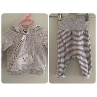 H&M - H&M★62cm パーカーとパンツのセット