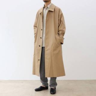 COMOLI - graphpaper 19aw steincollar coat