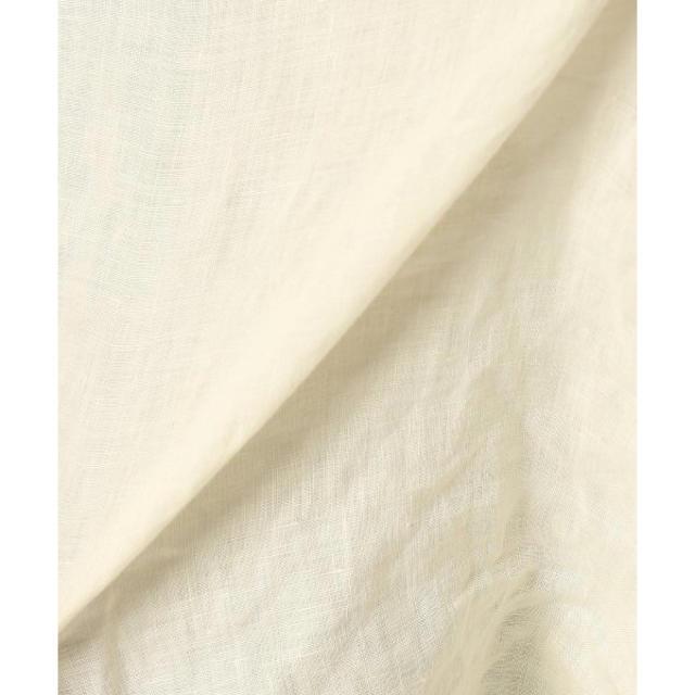 FRAMeWORK(フレームワーク)の新品 FRAMeWORK フレンチリネン 製品染めブラウス フレームワーク レディースのトップス(シャツ/ブラウス(半袖/袖なし))の商品写真
