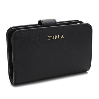 Furla - 【新品】FURLA(フルラ) 二つ折り財布 黒