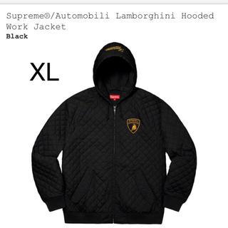 Supreme - Supreme Lamborghini Hooded Work Jacket