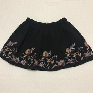 ZARA KIDS - zara girls 刺繍 スカート