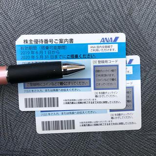 ANA(全日本空輸) - ANA 株主優待券 2枚➁