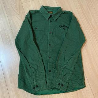 キャリー(CALEE)のCALEE激シブ 千鳥格子チェックシャツ美品(シャツ)