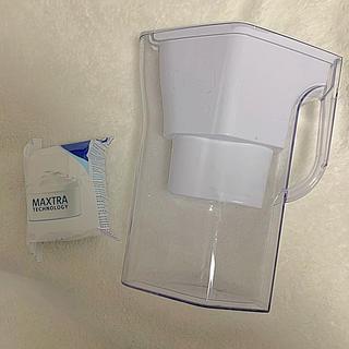 ブリタックス(Britax)のブリタ 浄水器 新品フィルター1個付! BRITA 1回だけ使用のフィルター付き(浄水機)