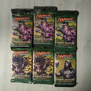 マジック:ザ・ギャザリング - エターナルマスターズ 日本語版ブースターパック6個未開封品